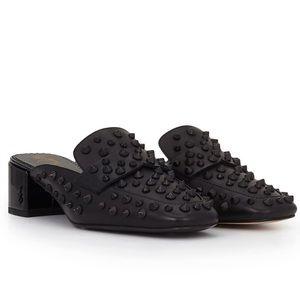 🆕SAM EDELMAN Leather Stud Mules